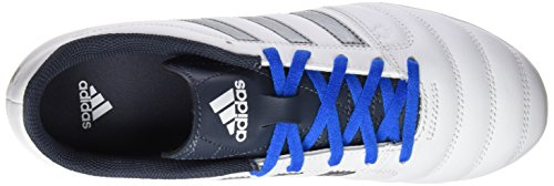 adidas Gloro 16.1 Fg, Chaussures de Football Compétition Mixte Adulte Blanc/Noir (Ftwr White/Night Metallic/Utility Blue)