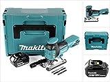 Makita DJV 181 M1J 18 V Li-ion Akku Stichsäge + 1x BL 1840 B 4,0 Ah Akku - ohne Ladegerät