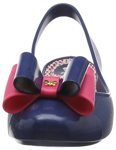 Zaxy Gift Bow Damen Riemchenballerina Blau (Marineblau)