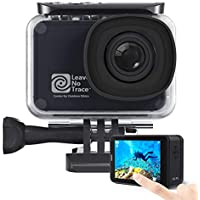 AKASO V50 Pro SE Action Camera, 4K/60fps Touch Screen WiFi EIS 39m Waterproof Camera, Adjustable View Angle Remote Control Sports Camera with Helmet Accessories Kit