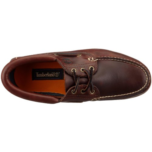 Timberland Herren CLS 2-Eye Boad Halbschuh Dark Brown
