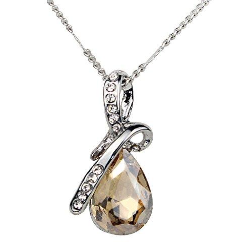 Wealsex cristal collier pendentif chaîne clavicule o