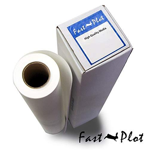 FastPlot Selbstklebendes Vinyl, wasserfest, 4 mm, 61 x 152 m