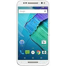 "Motorola Moto X Style - Smartphone de 5.7"" (Hexa Core a 1.8 GHz, 3 GB de RAM, 32 GB de memoria interna, Android), color blanco"