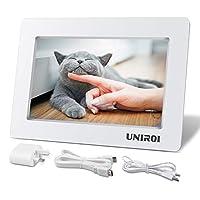 UNIROI 7 inch HD LCD Screen for Raspberry Pi 1024 x 600 HDMI Monitor with Ultra-slim Shell for Raspberry Pi 3 2 Model B+ 3B 2B B+ A+ A UR071