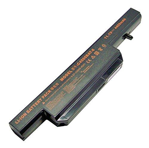Preisvergleich Produktbild 11.1V 4400mAh Clevo Laptop Akku C4500BAT-6 Akku Für Clevo C4500 C4501 C4505 C4800 C4801 C4805 B5130M B7110 B7130 E4105 E4107 ViewSonic VNB142 Gigabyte Q1732 6-87-C480S-4G4 6-87-E412S-4D7
