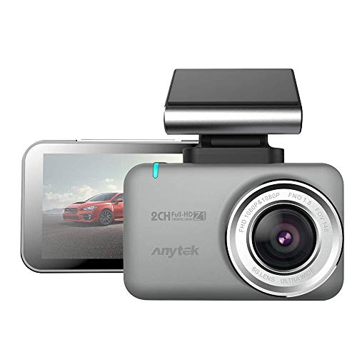 LWCAM Dash Cam 2.35 \'\' 1080P High Definition Dashcam Kamera Laufwerk Recorder DVR Loop Opname WiFi Auto Spiegel Kamera Star Vision Touchscreen
