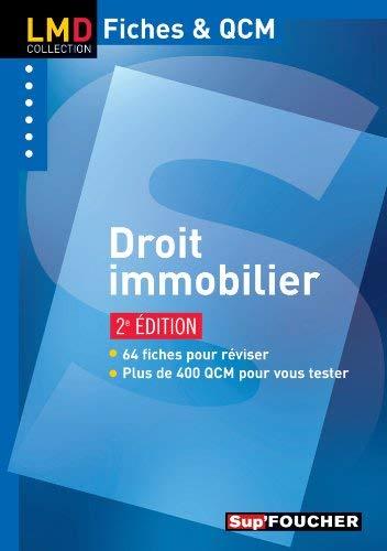 Droit immobilier by Valérie Gomez-Bassac;Estelle Pidoux(2013-02-20) par Valérie Gomez-Bassac;Estelle Pidoux
