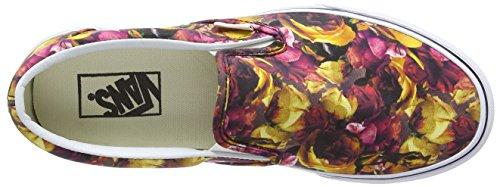Vans U Classic Slip-On Digi Floral Sneaker Basse, Donna Multicolore (Black/Digi Floral - Multi/True White)