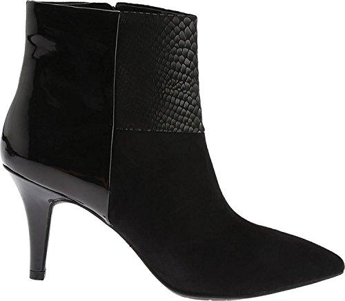 Anne Klein Women's Yarisol Suede Ankle Bootie