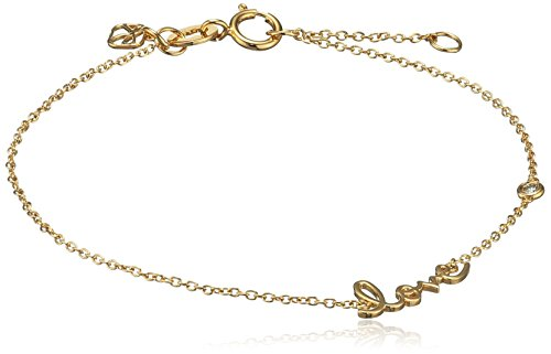 shy-by-sydney-evan-sterling-silver-yellow-gold-plated-love-bracelet-with-diamond-bezel-of-17145cm