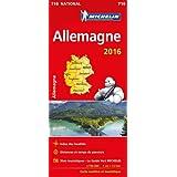 Carte Allemagne 2016 Michelin