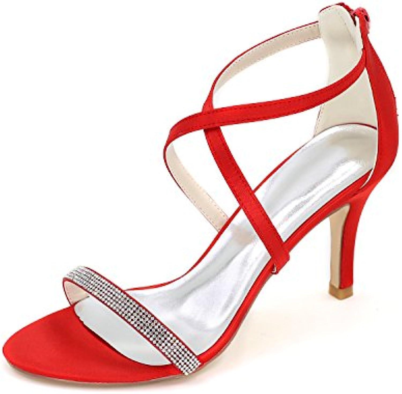 Geox D Domezia C, Sandalias con Cuña para Mujer -