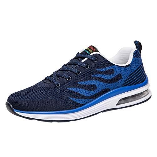 Sanahy Unisex Herren Damen Sportschuhe Laufschuhe Bequeme Air Laufschuhe Schnürer Running Shoes -