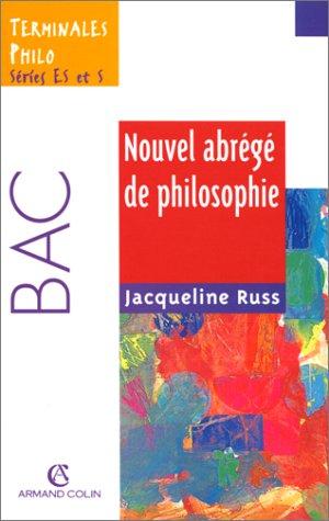 Nouvel abrégé de philosophie Terminales ES-S, 2e édition