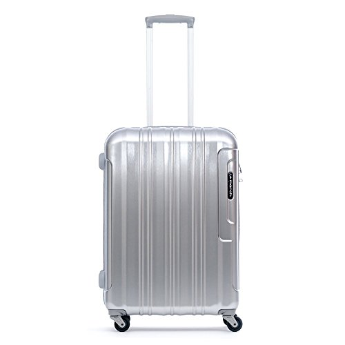 march Cosmopolitan 4-Rad Trolley 77cm silber