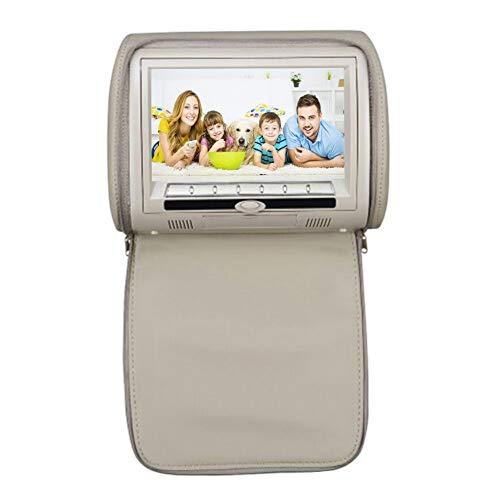 CAPTIANKN Car DVD/CD Player, Car Headrest Stand, 9