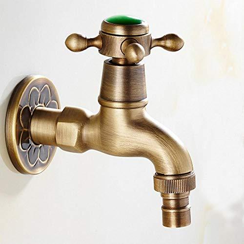 Utility-thermostat (Super langlebig Messing Thermostat Garten Wasserhahn Outdoor-Hähne Waschmaschine Anschlusshahn Bibcock Wasch Utility Hähne)