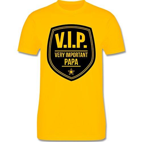 Vatertag - V.I.P. - Very important Papa - Herren Premium T-Shirt Gelb