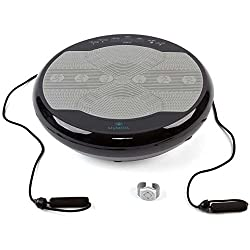 Vibration plate Slim 2017 Styletics with remote control on the wrist FOLLOW-UP of the Styletics 2016 (Black)