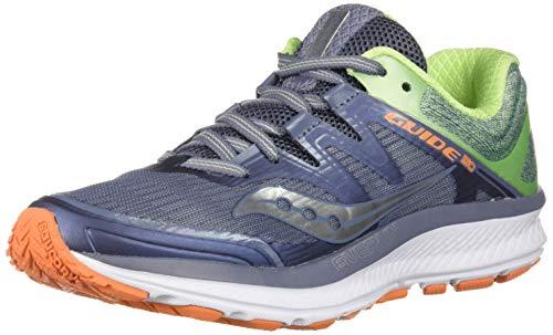 Saucony Women's Guide ISO Running Shoe, Grey/Mint, 7 Medium US