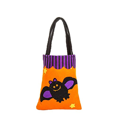 oween Cute Witches Candy Bag Verpackung Children Party Storage Bag Gift (D) ()