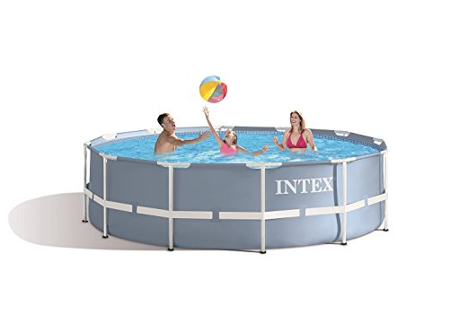 Intex - Piscine tubulaire Intex Prism Frame ronde 3,66 x 0,99 m