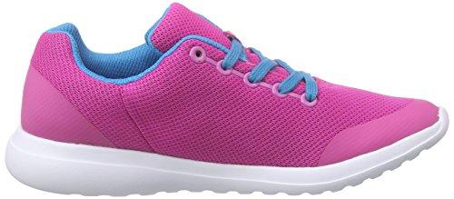 Clarks Kids Sprintzone Jnr, Baskets Basses fille Rose (Pink Combi)