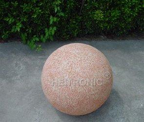 Leuchtkugel MARS, (Terrakotta-Look), 50 cm, - (36289)