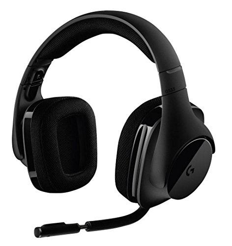 Business Headset (Logitech G533 Gaming Headset (kabelloser DTS 7.1 Surround Sound) schwarz)