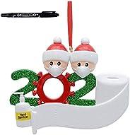 2020 Christmas Ornament Holiday Decorations Survived Family Christmas Hanging Ornaments for Christmas Tree Hom