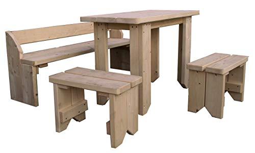 Gartenpirat mobili per bambini tavolo per bambini con panche e