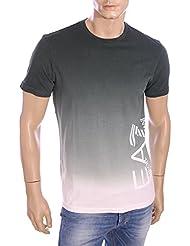 EA7 - Emporio Armani - T-Shirt vert vintage homme été 2016 273933 6P689