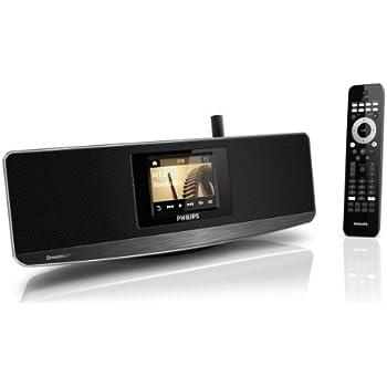 philips np3900 12 internetradio wifi wlan fernbedienung smartphone app flac mp3 spotify. Black Bedroom Furniture Sets. Home Design Ideas