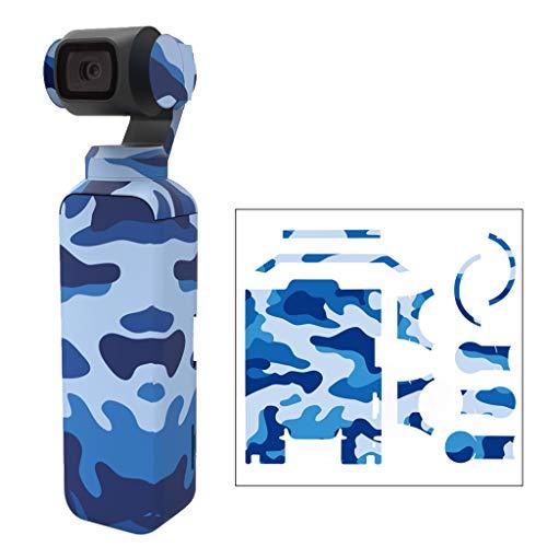 Janly Schutzhülle Box,Modische Decal Skin Aufkleber Schutzhülle für DJI OSMO Pocket Gimbal PVC Lagerung Box (D) (Pvc-container-lagerung)