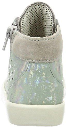 Superfit Marley Mädchen Hohe Sneakers Grün (Agave Kombi 54)