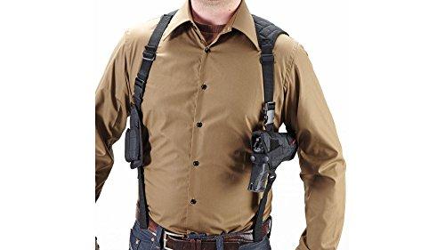 Umarex Unisex- Erwachsene Nylonholster Universal Schulterholster mit Magazin Tasche 2.5777, Schwarz, Uni