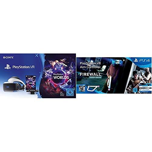 PlayStation VR + Camera + VR Worlds Voucher [neue PSVR Version] + Firewall: Zero Hour VR + PS VR-Ziel-Controller