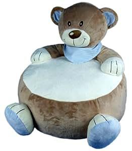 """pouf poire """"ours"""" pour enfants"""