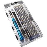 ACENIX Juego de destornilladores magnéticos de precisión de 56 piezas, kit de herramientas para reparación de teléfono móvil, tablet, PC, Macbook, Macbook 2015, MacBook Air, MacBook Pro