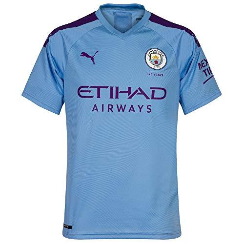 Man City Home Shirt (Puma Man City Home Authentic Trikot 2019 2020 - L)