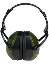 Casque Anti-Bruit Vert Olive Chasse Tir Airsoft Jardinage Bricolage