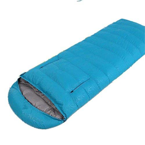 RJ YXX Schlafsack Vier Jahreszeiten Tragbar Praktisch Multifunktion Eine Hand haben Schlafsack Im Freien Camping Winddicht Wasserdicht Anti-kalt, Kaschmir Inhalt von 400 Gramm -