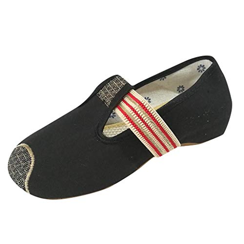 ALIKEEY Scarpe da Ballo da Donna Scarpe Basse Poco Profonde Scarpe Casual Ricamate con Fondo Morbido, Outdoor Multisport Shoes Tennis Scarpe Foundation