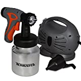 Electric Paint Sprayer Hand Held Spray Gun System 650W, Fence Sprayer Ideal for Gloss, Satin, Varnish, Fence Paint, 3 Spray Patterns, Adjustable Paint Flow Valve, 800ml Paint Container, No need for Rollers (DIY)