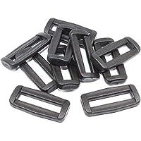 Schieber-Stopper Gurtschlaufen-Bandschlaufen 10 Stück für 30mm Gurte und Bänder.