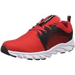 Nivia Men's Red and Black Sneakers - 9 UK/India (42 EU)(4981)