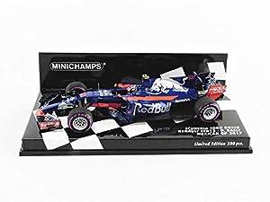Minichamps 417171810 - Coche en Miniatura de colección, Color Azul y Rojo