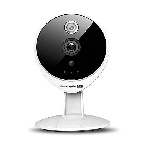 iSmartgate HD 720P kabellose Indoor Sicherheitskamera mit HD-Videoüberwachung , 2-Wege-Audio, Nachtsicht und Bewegungserkennung. Kompatibel mit dem Gogogate2, ideal für die Garagenüberwachung.
