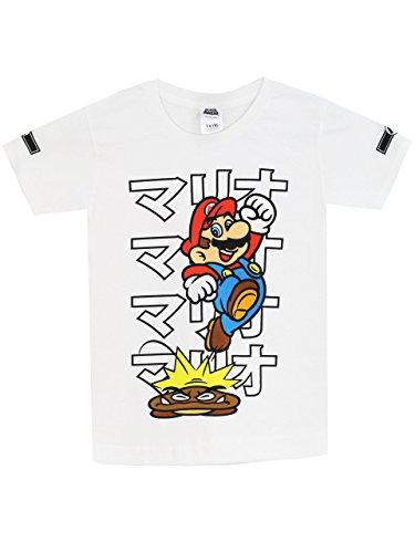 Super Mario Bros - Camiseta para niño - Mario - 5 - 6 Años